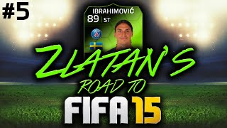 ZLATAN'S ROAD TO FIFA 15 #5 - 10 GOAL THRILLER!!! FIFA 14 ULTIMATE TEAM RTG!