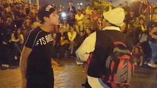 Care Chanchito JR vs El Cholo Victor | Comicos Ambulantes | Chabuca Granda