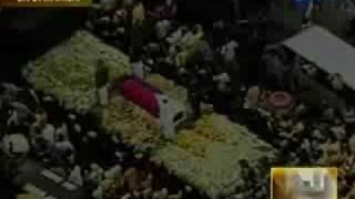 Cory Aquino Funeral: SARAH GERONIMO sings Magkaisa
