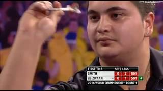 11 Perfect Darts-in-a-Row - 2016 PDC World Championship