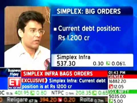 Simplex Infra bags orders worth Rs 1000cr