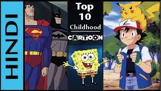 Top 10 Childhood Cartoon Shows In Hindi   All Old Cartoon Shows In Hindi   90's Cartoons In HINDI