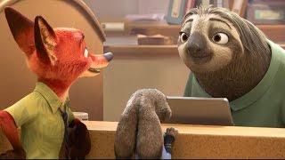 Sloths Run the DMV in the New 'Zootopia' Trailer