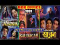 Henna, Saudagar & Saajan 1991 Movie Budget, Box Office Collection, Verdict and Facts