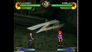 Danzo vs Karin (new jutsu fusion)