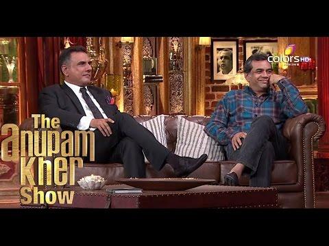 Boman Irani & Paresh Rawal The Anupam Kher Show Season 2 20th September 2015