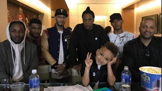 Swizz Beatz's Five-Year-Old Son Produced Track On Kendrick Lamar's