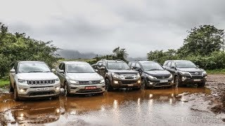 CarWale Off Road Day 2017   Top SUV Comparison