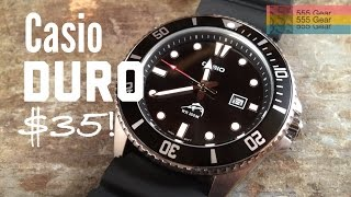 """Review: Casio Duro Marlin MDV106-1A """"Ultra Affordable Dive Watch"""""""