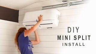 DIY Ductless Mini Split Install - MrCool Unit