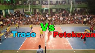 FINAL Jastro Pemain Proliga VS Eko Kapten PON Turnamen Bola Voli SMA Islam Jepara