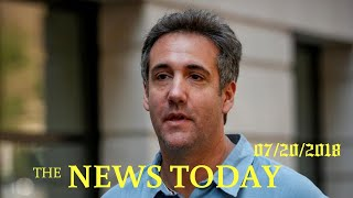 Lawyer Cohen Taped Trump Discussing Payment To Playboy Model: NYT | News Today | 07/20/2018 | D...