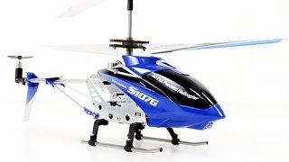Flying Two Syma S107G RC Helicopters Outside