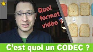 C'est quoi un CODEC vidéo ? - Formats vidéos expliqués #1