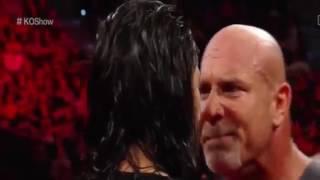 Goldberg & Roman Reigns Attack Braun Strowman WWE RAW 1217   WWE RAW 2nd January 2017   YouTube