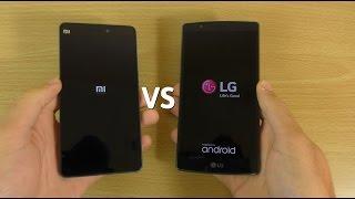 Xiaomi Mi4c VS LG G4 - Speed & Camera Performance!
