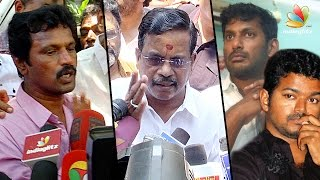 Vishal has given only flops and just copies everything from Vijay slams Thanu Speech | Cheran
