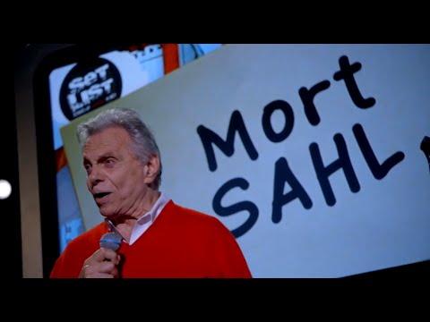MORT SAHL Set List: Stand-up Without a Net