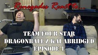 Renegades React to... Dragonball Z Kai Abridged Episode 1
