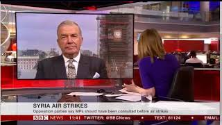Admiral Lord West Casts Doubt On Syria Attack Intelligence - BBC NEWS 16/04/2018