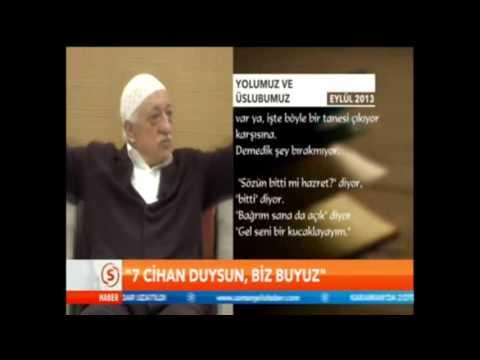 Fethullah Gülen Yedi cihan duysun biz buyuz