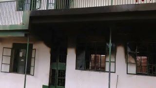 Over 40 students of St Peter's SSS Nsambya nursing injuries after dormitory fire