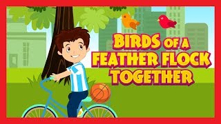 BIRDS OF A FEATHER FLOCK TOGETHER - KIDS HUT NURSERY RHYMES || NURSERY SONGS AND RHYMES