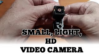 Small Light HD Video Camera Review and Footage.  SQ11
