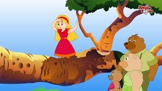 Goldilocks आणि तीन अस्वल | JingleToons Animated Story For Kids