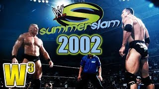 WWE Summerslam 2002 Review | Wrestling With Wregret