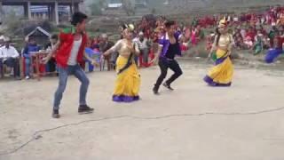 Lekai Jane lekhali Dhafe Live Dance By Sahara kala Kendra  ft Suman Thapa Magar