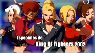 Como hacer los especiales de The King of Fighters 2002 Magic Plus