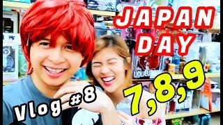 Yexel and Mikee JAPAN Day 7,8,9 Vlog # 8