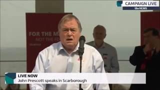 John Prescott speech to the people of Scarborough