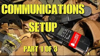 DesertFox Airsoft Communications Setup Part 1 of 3 (Code Red Headsets)