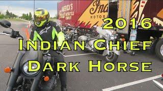 Demo Ride: 2016 Indian Chief Dark Horse