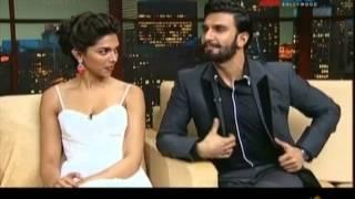 Ranveer Singh & Deepika Padukone with Komal Nahta