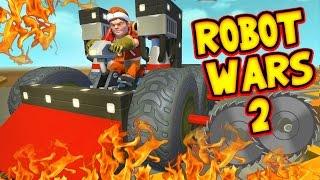 Scrap Mechanic! - ROBOT WARS 2 CHALLENGE! Vs AshDubh - [#39]   Gameplay  