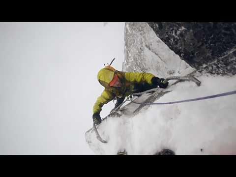 Scottish winter climbing: The Starting Blocks (VII, 8) Glencoe