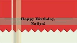 Happy birthday, Nailya!
