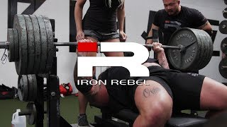 Iron Rebel Lifting Exhibition at Barbell Brigade