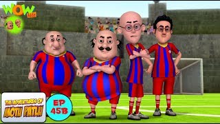 Football Match - Motu Patlu in Hindi - NEPALI SUBTITLES - 3D Animation Cartoon for Kids