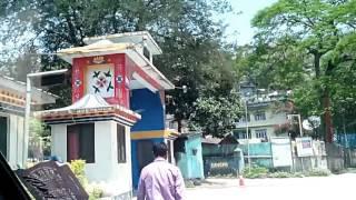 Bengal-Sikkim Check post at Rangpo