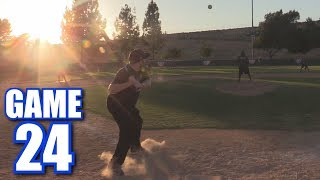FIRST TIME I'VE DONE THIS! | On-Season Softball League | Game 24