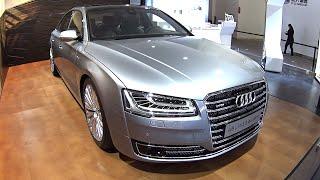 2016, 2017 Audi A8L W12, 6.3 liter, 500hp, 628nm