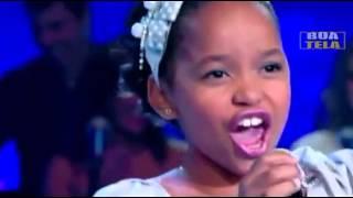 Franciele  Fernanda  - Abandonada Jovens Talentos Kids - Raul Gil  18/08/2012