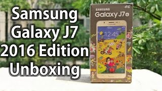 Samsung Galaxy J7 2016 Unboxing & Hands on Quick Review Nothing Wired