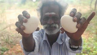 BIG Egg podimaas prepared by my daddy (ARUMUGAM) in my village / VILLAGE FOOD FACTORY