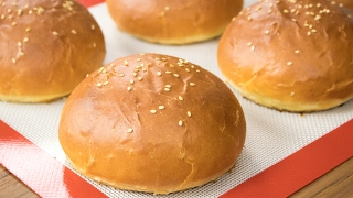 Burger Buns Recipe | Best Eggless Hamburger Buns | Super Soft Bakery Style Breads
