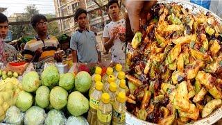 Street Mixed fruits Recipe-Guava Boroi Tamarind Mixed Masala Pickle (Vorta)*Street Food Dhaka Uttara